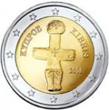 2 euro (other side, country Cyprus) 2
