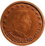 5 cents (other side, country Luxemburg) 0.05